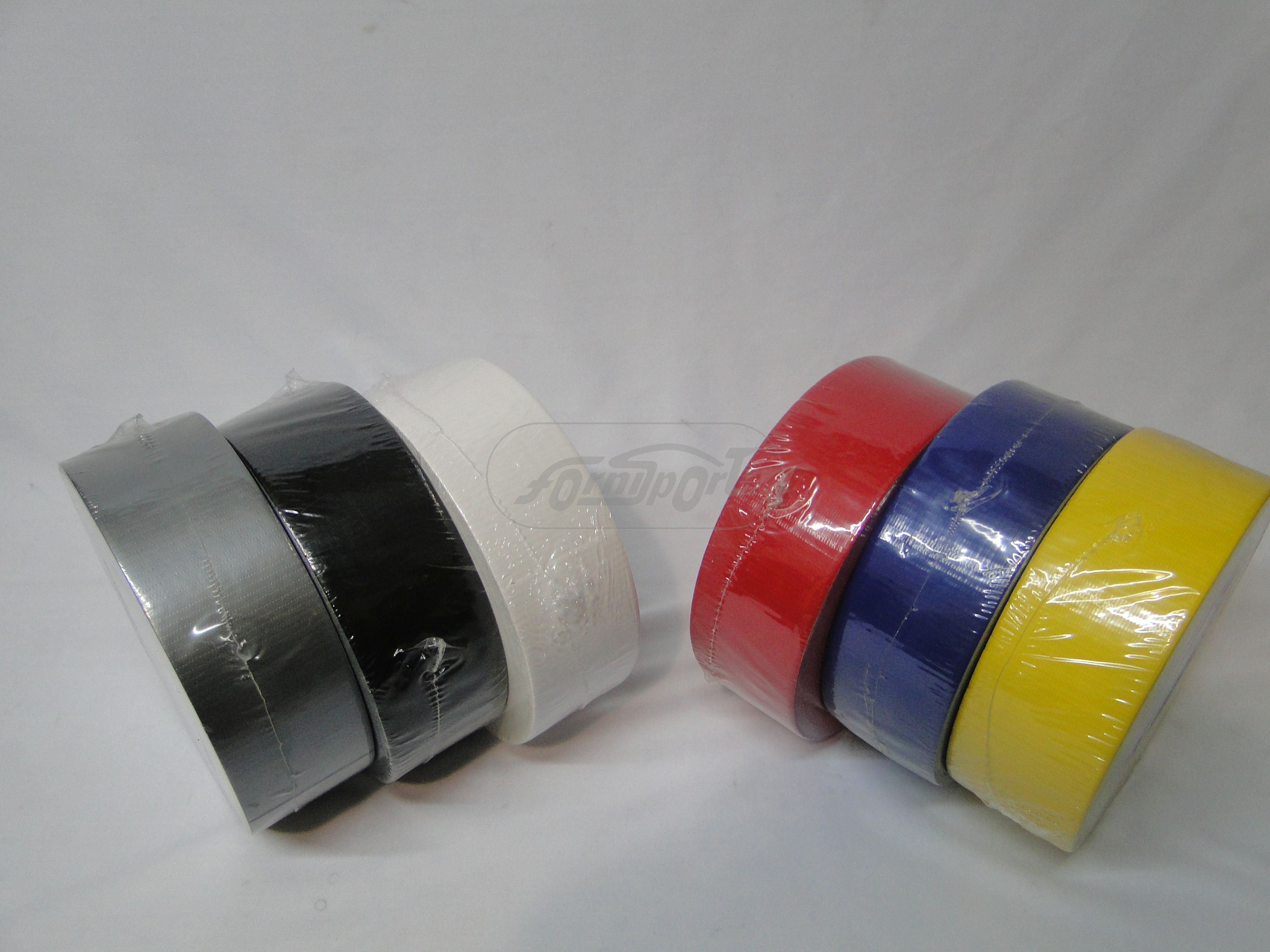 Cinta Duc Tape  COLOR NEGRO - 50 Mts.*