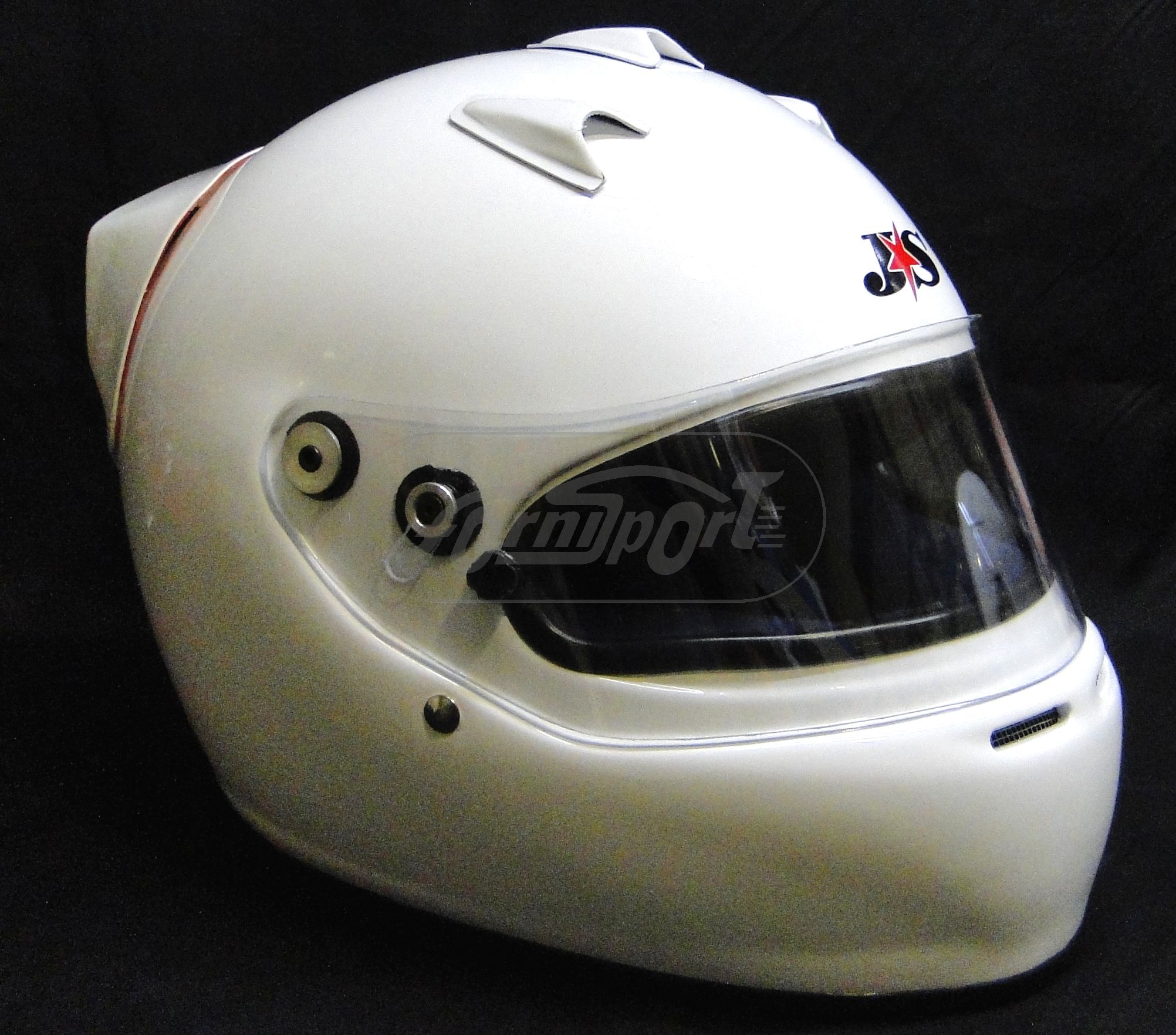 Casco Integral  J*S  Racing   T 54 A 5 con Alerón