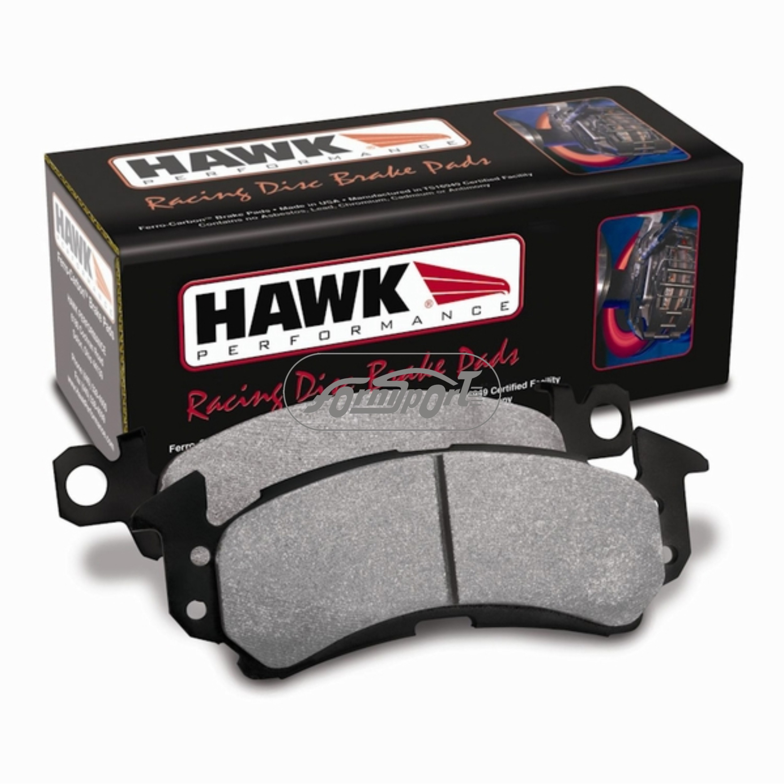 Pastillas freno HB100 E TC 4000 SS Hawk